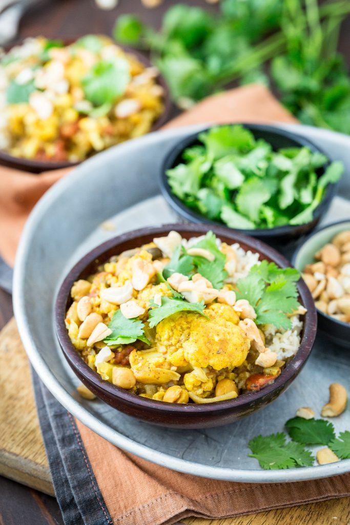 Quick Cauliflower Curry