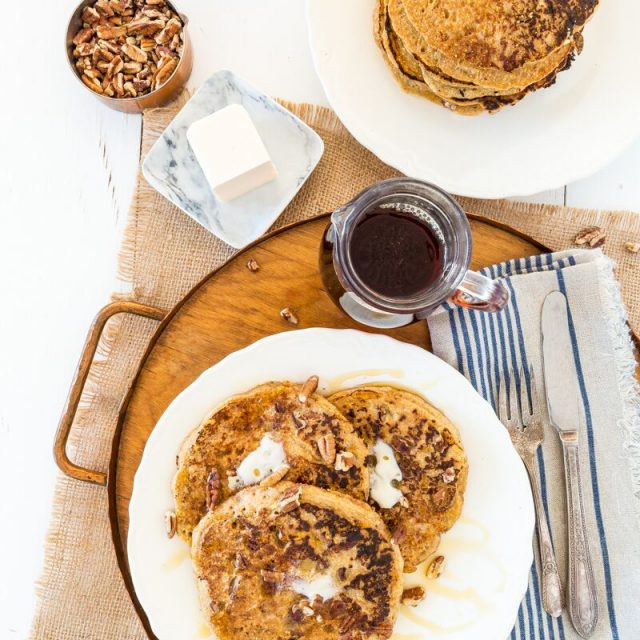 Maple Pecan Corncakes