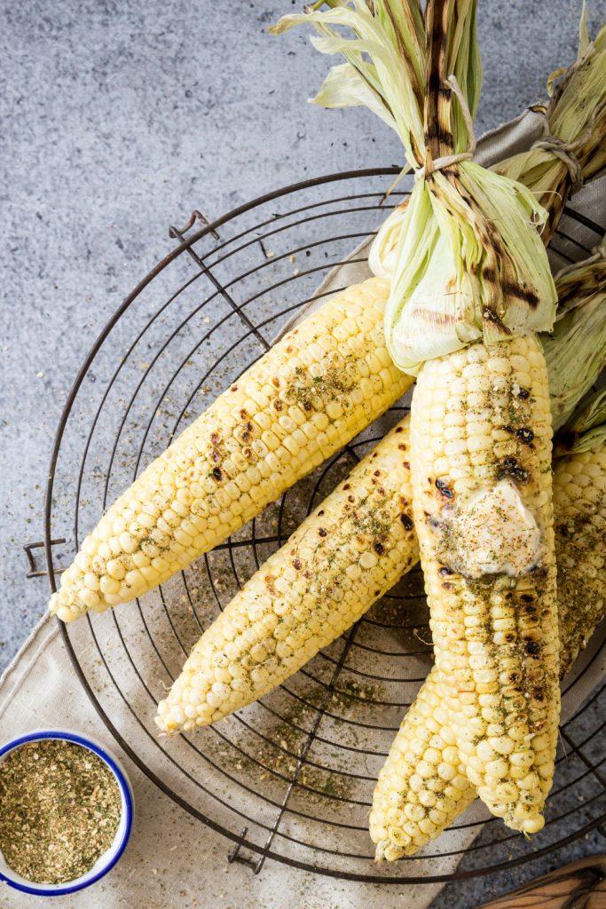 Ranch-Seasoned Corn on the Cob