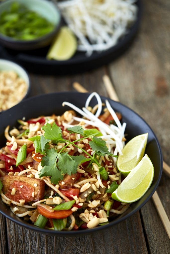 Vegan Tofu Pad Thai