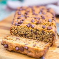 Gluten-Free, Vegan Chocolate Chip Banana Bread